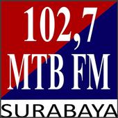102,7 Radio MTB FM Surabaya icon