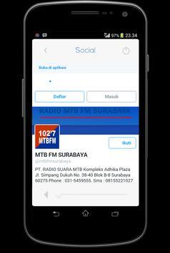 102,7 Radio MTB FM Surabaya screenshot 5