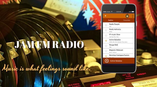 Jam FM Radio poster