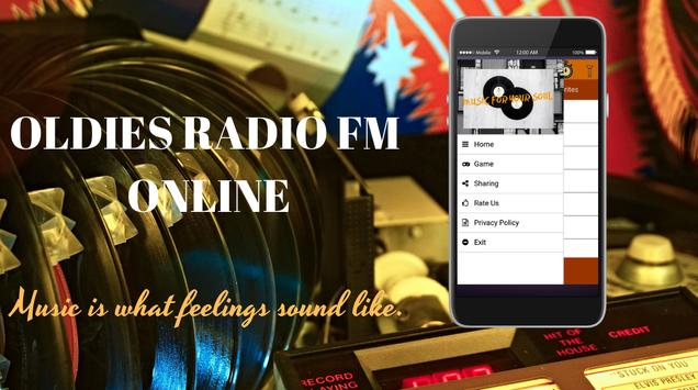 Oldies Radio FM Online poster