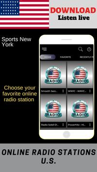Sports New York ONLINE FREE APP RADIO screenshot 4