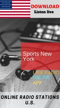 Sports New York ONLINE FREE APP RADIO screenshot 3