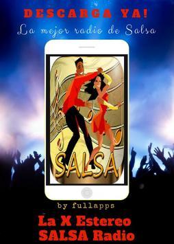 La X Estereo SALSA Radio free ONLINE APP screenshot 6