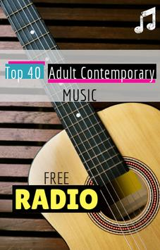 Top 40 Adult Contemporary Music Radio poster