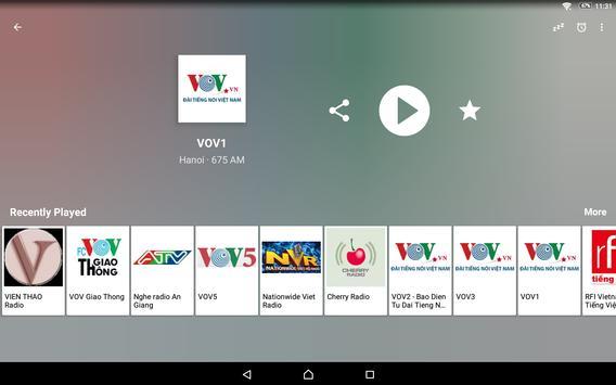 FM Radio Việt Nam screenshot 8
