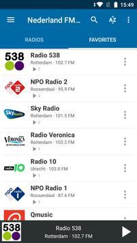 Nederland FM Radio screenshot 6