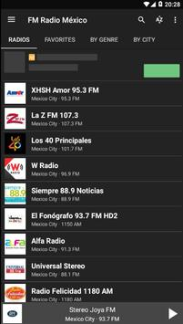 Radio Mexico | Radio Apps For Android screenshot 1