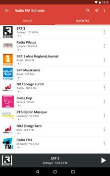 Radio FM Schweiz screenshot 13