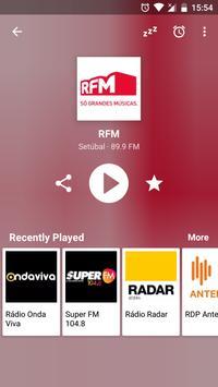 Radio FM Portugal screenshot 1