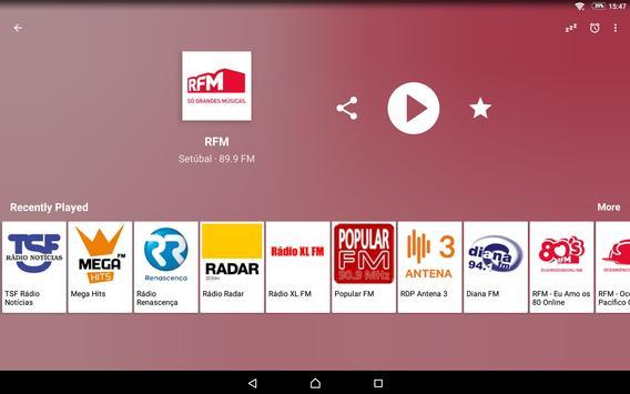 Radio FM Portugal screenshot 8