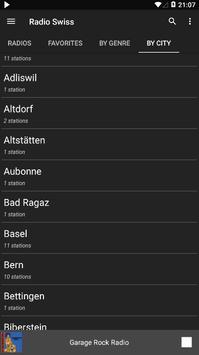 Radio Swiss - AM FM Radio Apps For Android screenshot 4