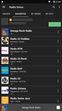 Radio Swiss - AM FM Radio Apps For Android screenshot 2