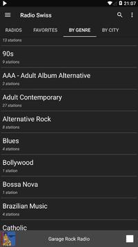 Radio Swiss - AM FM Radio Apps For Android screenshot 3