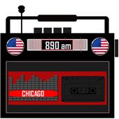 890 am chicago emisoras illinois radio icon