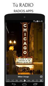 890 am chicago emisoras illinois radio screenshot 1