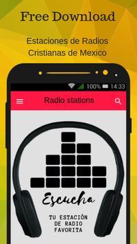 Estaciones de Radios Cristianas de Mexico poster