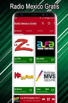 Radio Mexico Free - Mexican Radio Stations screenshot 4
