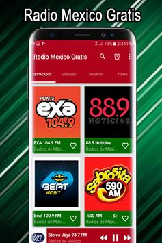 Radio Mexico Free - Mexican Radio Stations screenshot 6