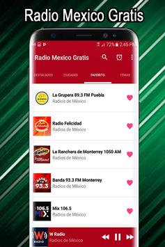 Radio Mexico Free - Mexican Radio Stations screenshot 2