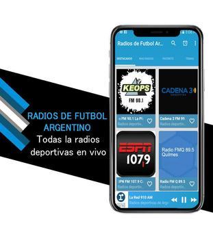 Argentine Soccer Radios poster
