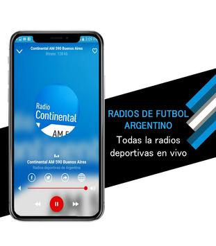 Argentine Soccer Radios screenshot 1