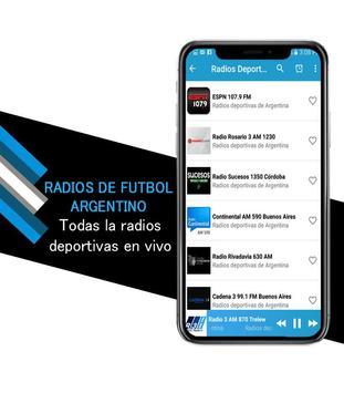 Argentine Soccer Radios screenshot 4