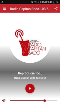 Radio Capitan Bado 103.5 FM poster