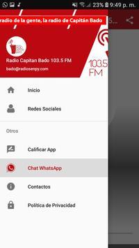 Radio Capitan Bado 103.5 FM screenshot 1