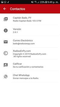 Radio Capitan Bado 103.5 FM screenshot 2