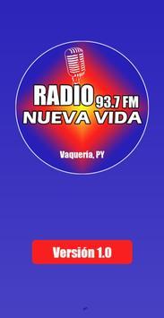 Radio Nueva Vida FM 93.7 - Vaquería poster