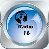 Radio 16 Costa Rica 1590 AM icon