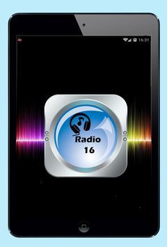 Radio 16 Costa Rica 1590 AM screenshot 4