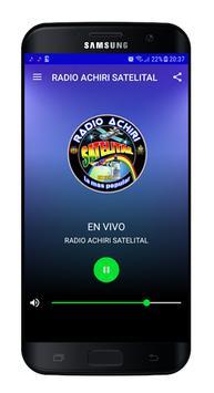 Radio Achiri Satelital Bolivia poster