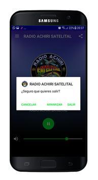 Radio Achiri Satelital Bolivia screenshot 2