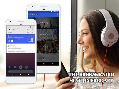 The Breeze Radio Station Free App Online screenshot 1