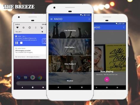 The Breeze Radio Station Free App Online screenshot 2