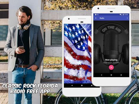 Classic Rock Florida Radio Free App Online screenshot 3