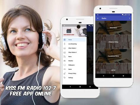 Kiss FM Radio 102.7 Free App Online screenshot 2