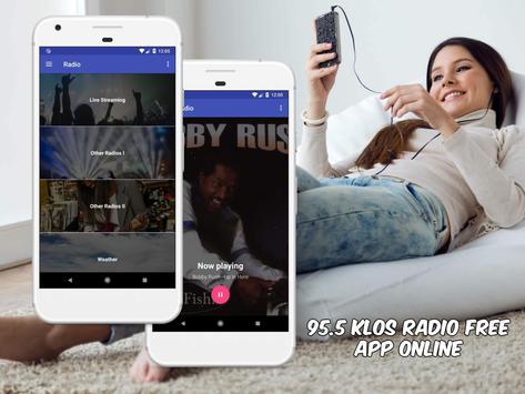 95.5 KLOS Radio Free App Online screenshot 1