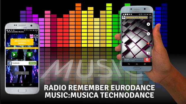 Radio Remember Eurodance Music:Musica Technodance screenshot 5