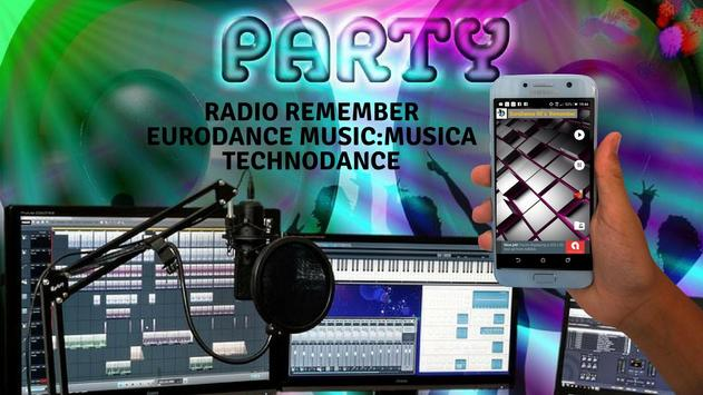 Radio Remember Eurodance Music:Musica Technodance screenshot 6
