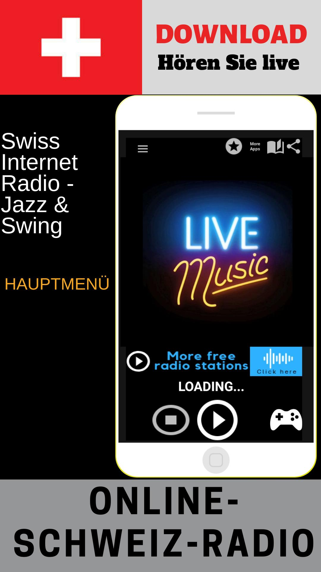Swiss Internet Radio Jazz & Swing Free Online for Android - APK Download