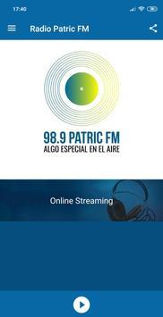 Radio Patric 98.9 FM Paraguay poster