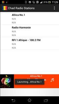 Chad Radio Stations poster