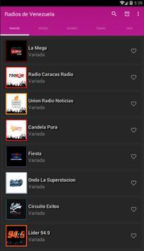 Radios de Venezuela screenshot 1