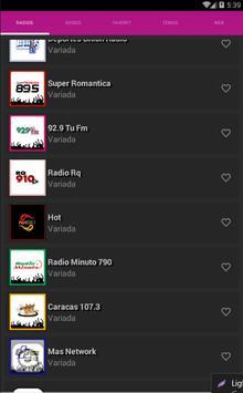 Radios de Venezuela screenshot 2