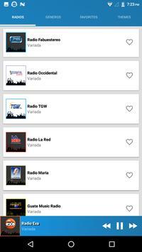 Radios de Guatemala screenshot 3