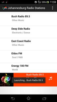 Johannesburg Radio Stations poster