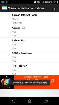 Sierra Leone Radio Stations poster