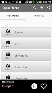 Poster Radios France FM Online